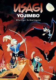 Usagi Yojimbo (Werkausgabe) 5: Blutige Schwingen