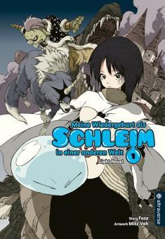 Meine Wiedergeburt als Schleim in einer anderen Welt (Light Novel) Band 1