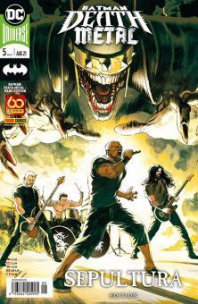 Batman - Death Metal 5 (Sepultura-Editon)