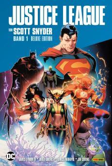 Justice League von Scott Snyder (Deluxe-Edition) Band 1