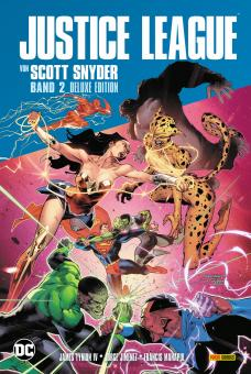 Justice League von Scott Snyder (Deluxe-Edition) Band 2