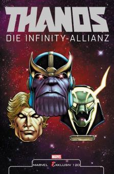 Marvel Exklusiv 120: Thanos - Die Infinity-Allianz Softcover