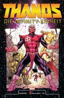 Marvel Exklusiv 121: Thanos - Die Infinity-Einheit