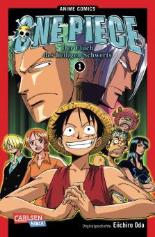 One Piece: Der Fluch des heiligen Schwerts (Anime-Comic)