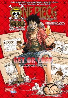 One Piece Quiz Book - Get or lost