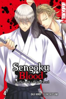 Sengoku Blood - Contract with a Demon Lord Band 4