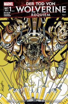 Tod von Wolverine Sonderband Requiem (Teil 1)