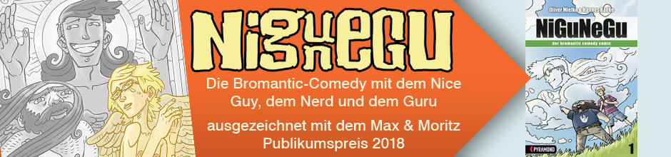 NiGuNeGu - Der Bromantic Comedy Comic