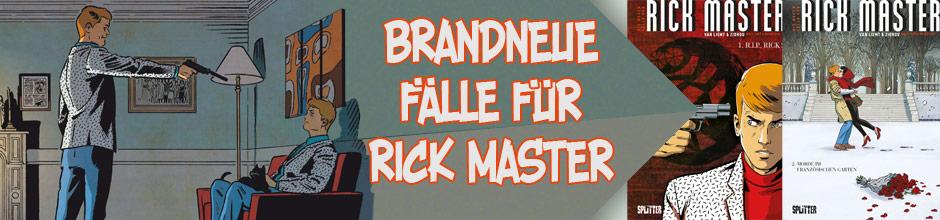 neuen Fälle des Rick Master