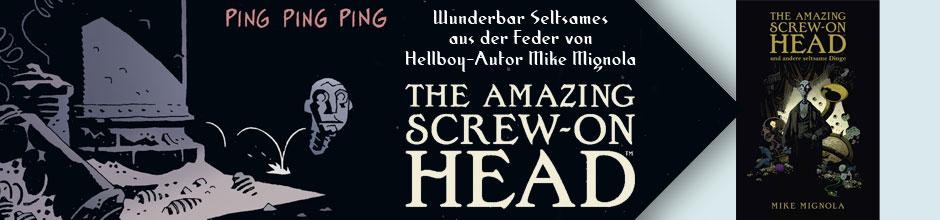 Amazing Screw-On Head und andere seltsame Dinge
